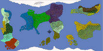 World Map Front Page