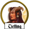 Tiefling name icon
