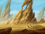 Helyrothian Desert