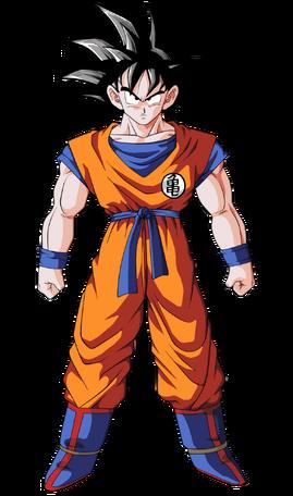 Goku by bardocksonic-d5ryf7o