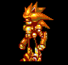 SUPER SEMI MECHA SONIC