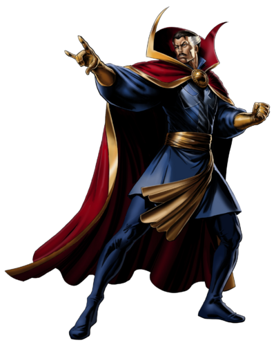 Dr. Strange Right Portrait Art