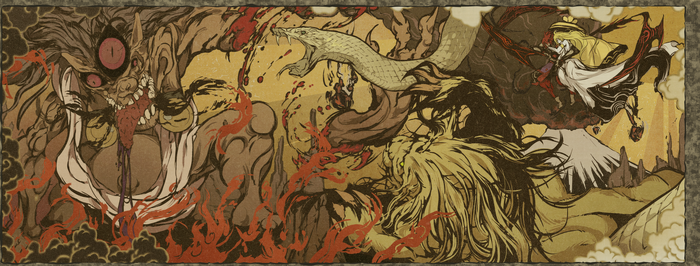 God of Shinza vs Hajun