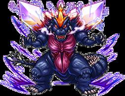 Spacegodzilla (Monster Strike)