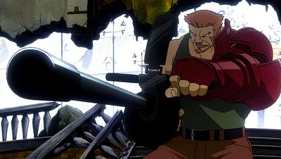 Cannon attacks Fairy Tail