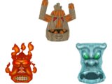 The Elemental Masks