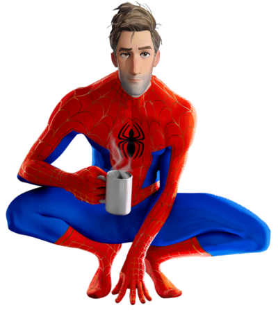 Into the spider verse spider man 4 png by captain kingsman16 dcvym0n-pre
