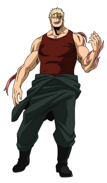 Muscular TV Animation Design