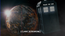 TARDIS falls to Trenzalore