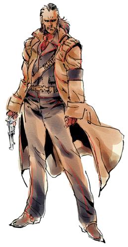 Revolver Ocelot render