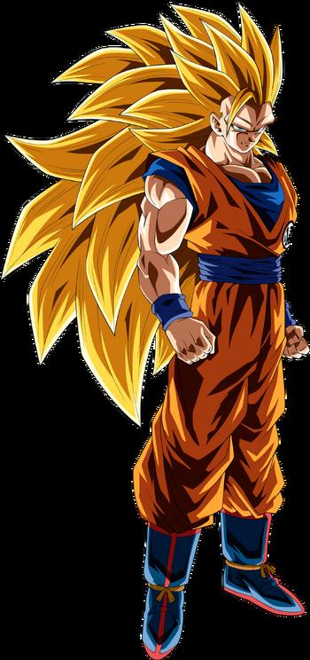 Goku DBZ SS3