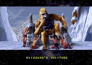 Blizzard ending