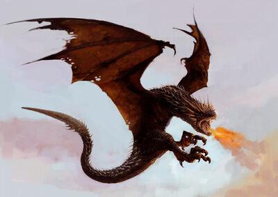 Dragon WB F4 HungarianHorntail Illust 100615 Land