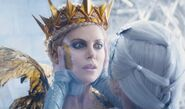 Ice queen and ravenna