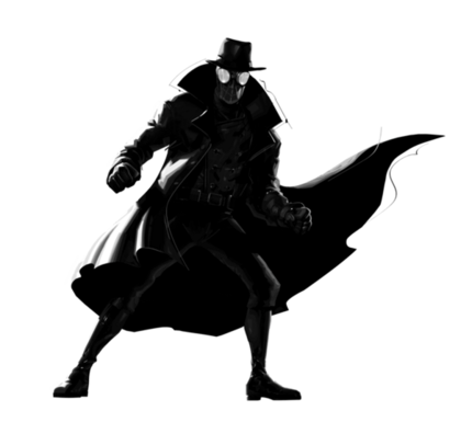Into the spider verse spider noir 1 png by captain kingsman16 dcv85d8-fullview