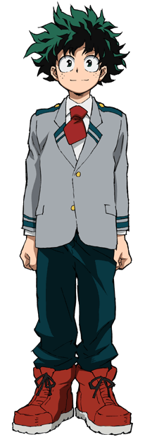 Izuku Midoriya School Uniform