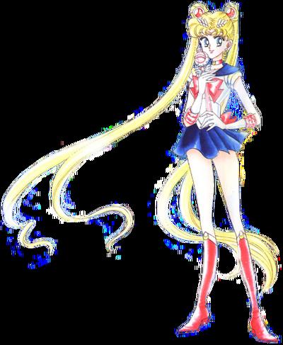Usagi Tsukino Sailor Moon Crystal Form - Manga