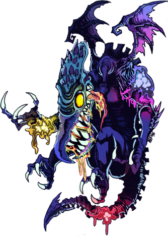 353-3537062 neo-ridley-ridley-x-metroid-fusion-super-metroid