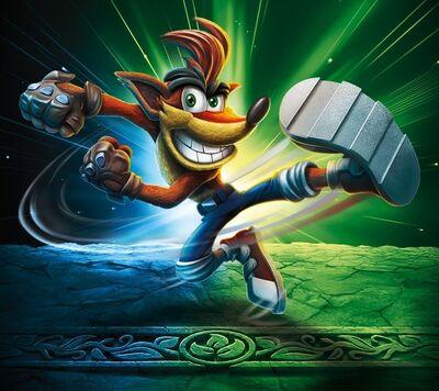 Crash Bandicoot Imaginators Art