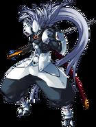BlazBlue Continuum Shift Hakumen Main