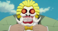 Hachis mask