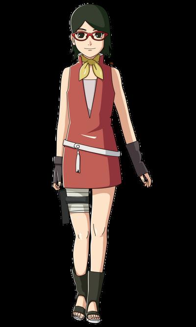 Boruto the next generation sarada uchiha by iennidesign-db46m40