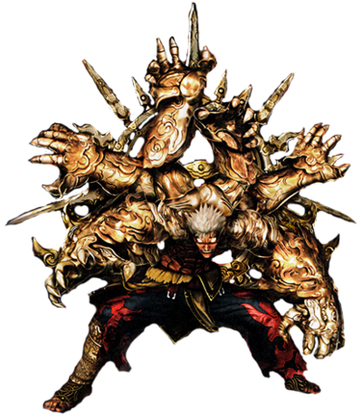 Six armed mantra asura by superkaijuking-d8zrkui