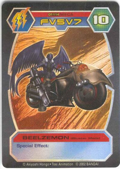 Beelzemon Blast Mode Behemoth