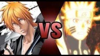 Ichigo vs Naruto? At least it's done right.