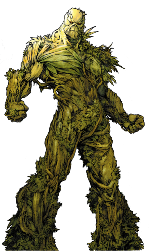 Swampthing render