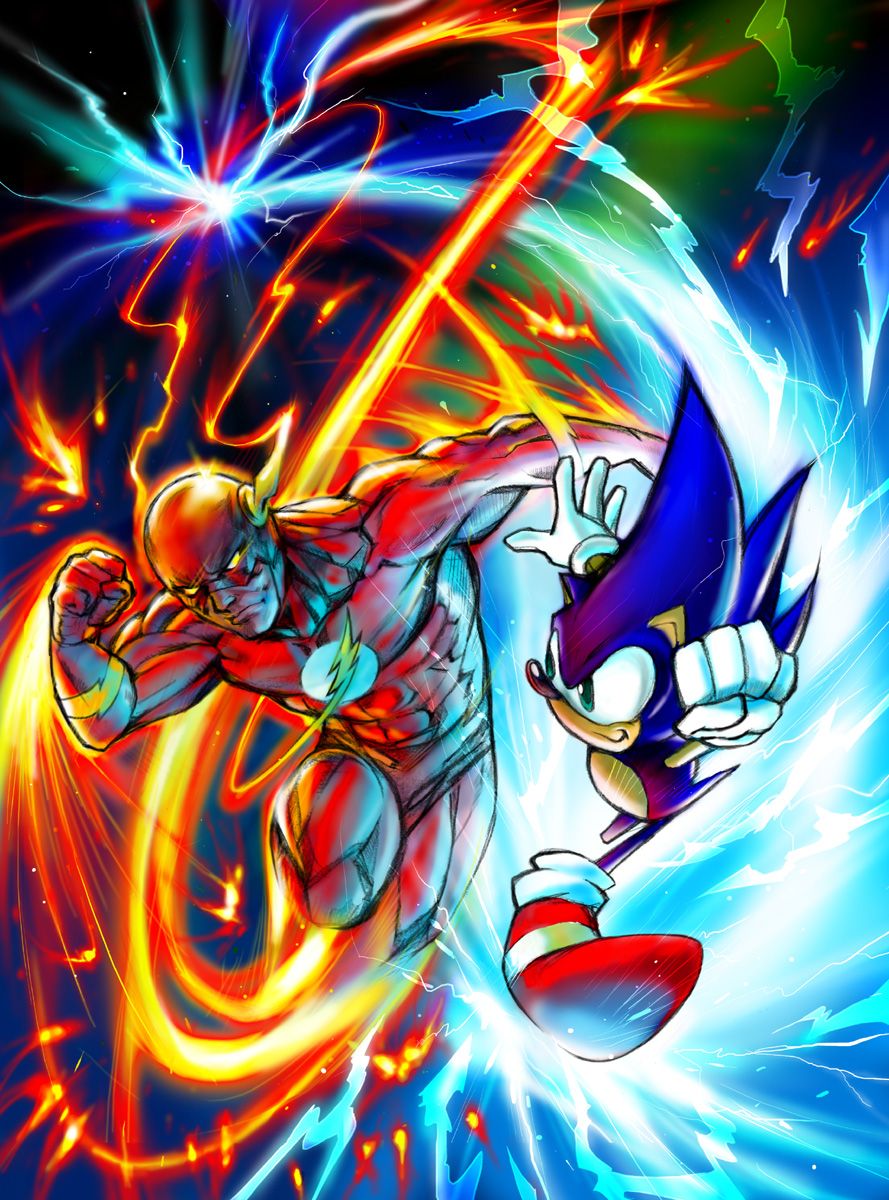 user blogbat sirifight x sonic vs the flash vs