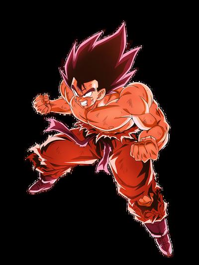 Goku kaioken render 3 by maxiuchiha22-dchf9sr