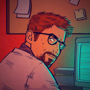 Gordon Late Night Work by mezmacko