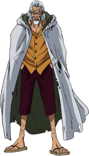 Silvers rayleigh anime