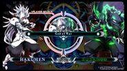 BlazBlue Central Fiction - God Of War (Hakumen VS Susano'o)-0