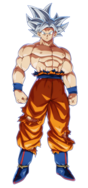 Ultra Instinct Goku FighterZ Render