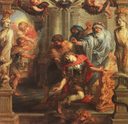 Death of Achilles - Peter paul Rubens