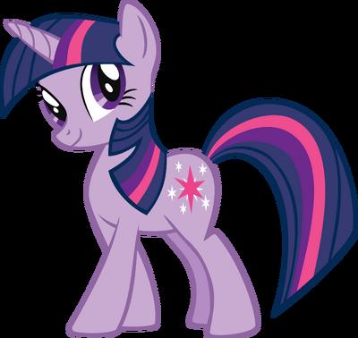 Twilight Sparkle Unicorn Render