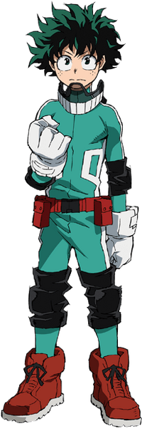 Izuku Midoriya Costume Alpha