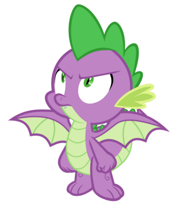 Spike with wings