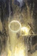Alan-lee-tolkien Sauron Forges the Ring