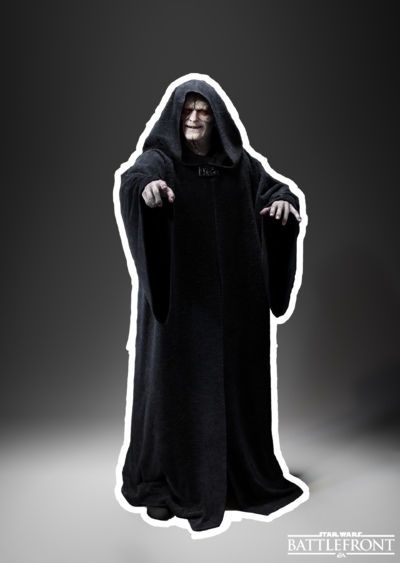 Darth Sidious Render Example
