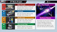 Meta Knight's Moves-SSBU