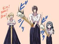 Training of the Sakurei's