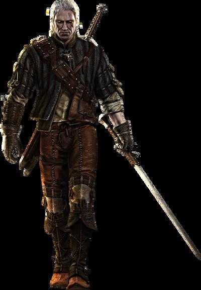 Geralt witcher2