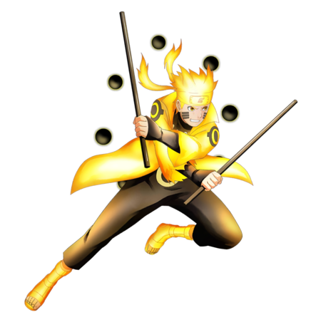 Naruto six paths render nxb ninja voltage by maxiuchiha22 ddth66g