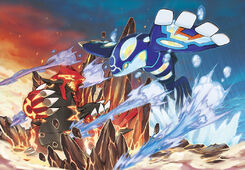 Pokémon-Omega-Rubyh-Alpha-Sapphire-Concept-Art-Battle-Primal-Groudon-Kyogre-72