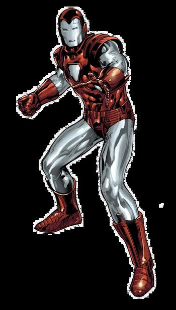 Iron Man Armor Model 8