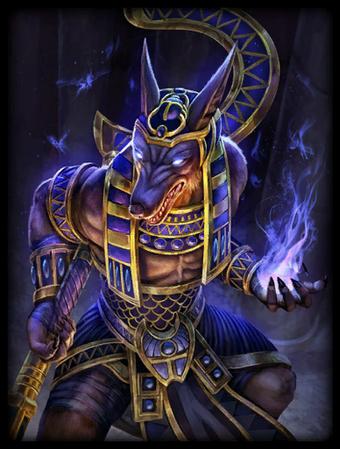 T Anubis Gold Card