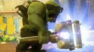 Plants vs. Zombies Garden Warfare - Super Giga Gargantuar Boss Wave